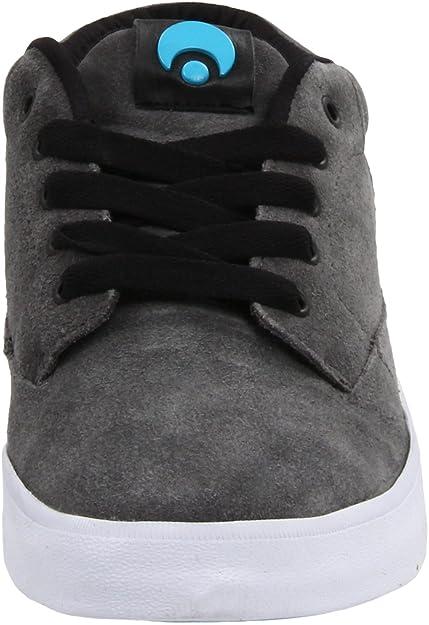 Osiris Chaveta 1264141 - Zapatillas de skate de ante unisex, color gris, talla 41.5