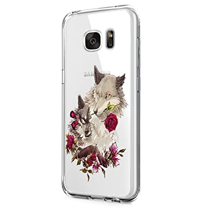 Samsung Galaxy S6 Edge Plus Carcasa,TPU Funda Transparente ...