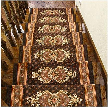 Alfombras de escalera Juego de 15 rectángulos de peldaños de Escalera 65x24cm Espesor 10 mm Almohadillas Autoadhesivas for alfombras Esterilla/ Alfombra for escaleras Protector Antideslizante antides: Amazon.es: Hogar