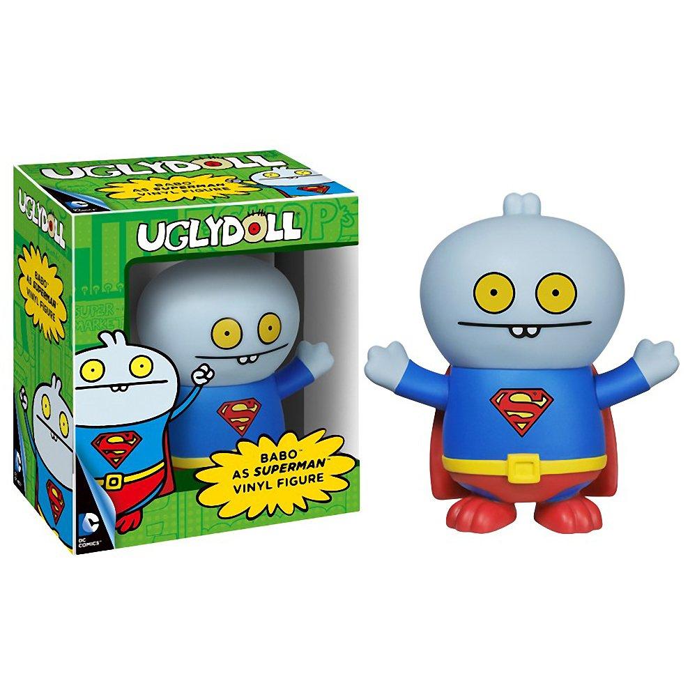 Babo as Superman: Uglydoll x DC Universe Vinyl Figure