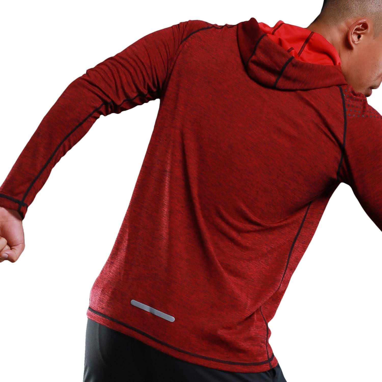 Active Hoodies Mens Athletic Hoodie Active Long Sleeve Sports ...