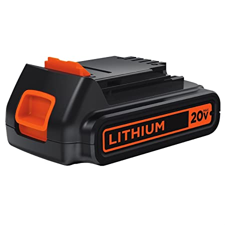 Black & Decker LBXR20 20-Volt MAX Extended Run Time Lithium-Ion Cordless Tool Battery Power Tool Accessories at amazon