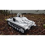 ✠ Sturmgeschütz III Panzer Wehrmacht WWII, Konstruktionsspielzeug Baukasten passend zu Lego-Steinen