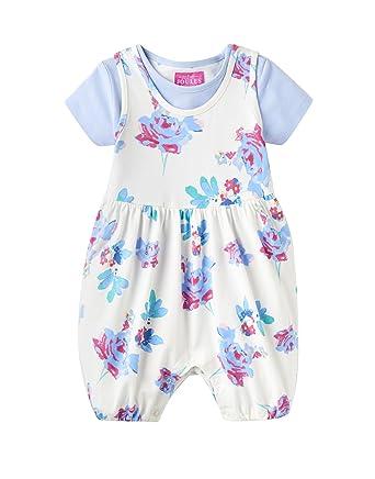 01d28e956 Amazon.com: Joules Baby Romper Suit & T-Shirt Set - Cream Margate ...