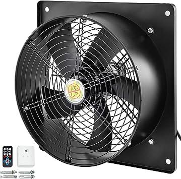 Mophorn Ventilador de Rotor Exterior 14 Pulgadas y 400 W Ventilador Axial de Cobre Puro 2450 rpm con Controlador de Velocidad: Amazon.es: Bricolaje y herramientas