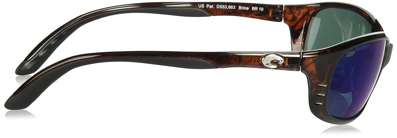 Costa Del Mar Brine C-Mate 2.50 Sunglasses Matte Black Gray 580P Lens Pro-Motion Distributing Direct BR11OGP2.50