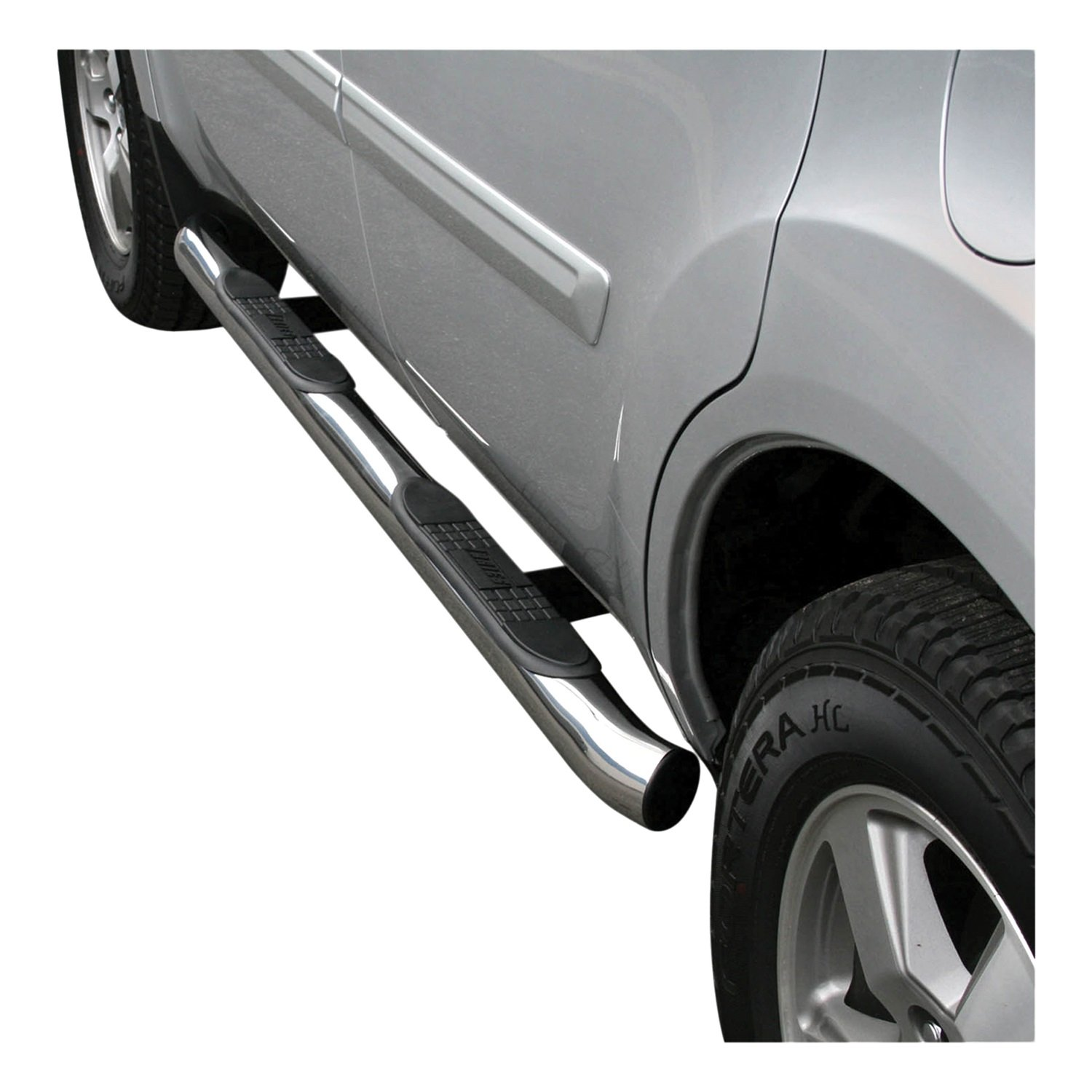 Aries Automotive 206008-2 Stainless Steel Side 3-Inch Step Bar