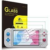 Switch lite フィルム 3枚 ELTD Nintendo Switch lite ガラスフィルム ニンテンドースイッチライト 保護フィルム 日本製素材旭硝子製 気泡ゼロ 指紋防止