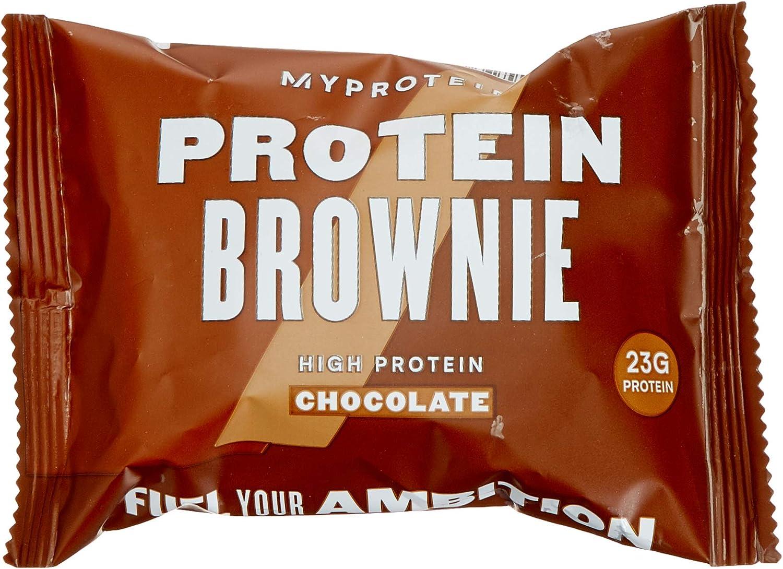 Myprotein Brownie de proteínas, chispas de chocolate, proteínas 23 g, (12 unidades)