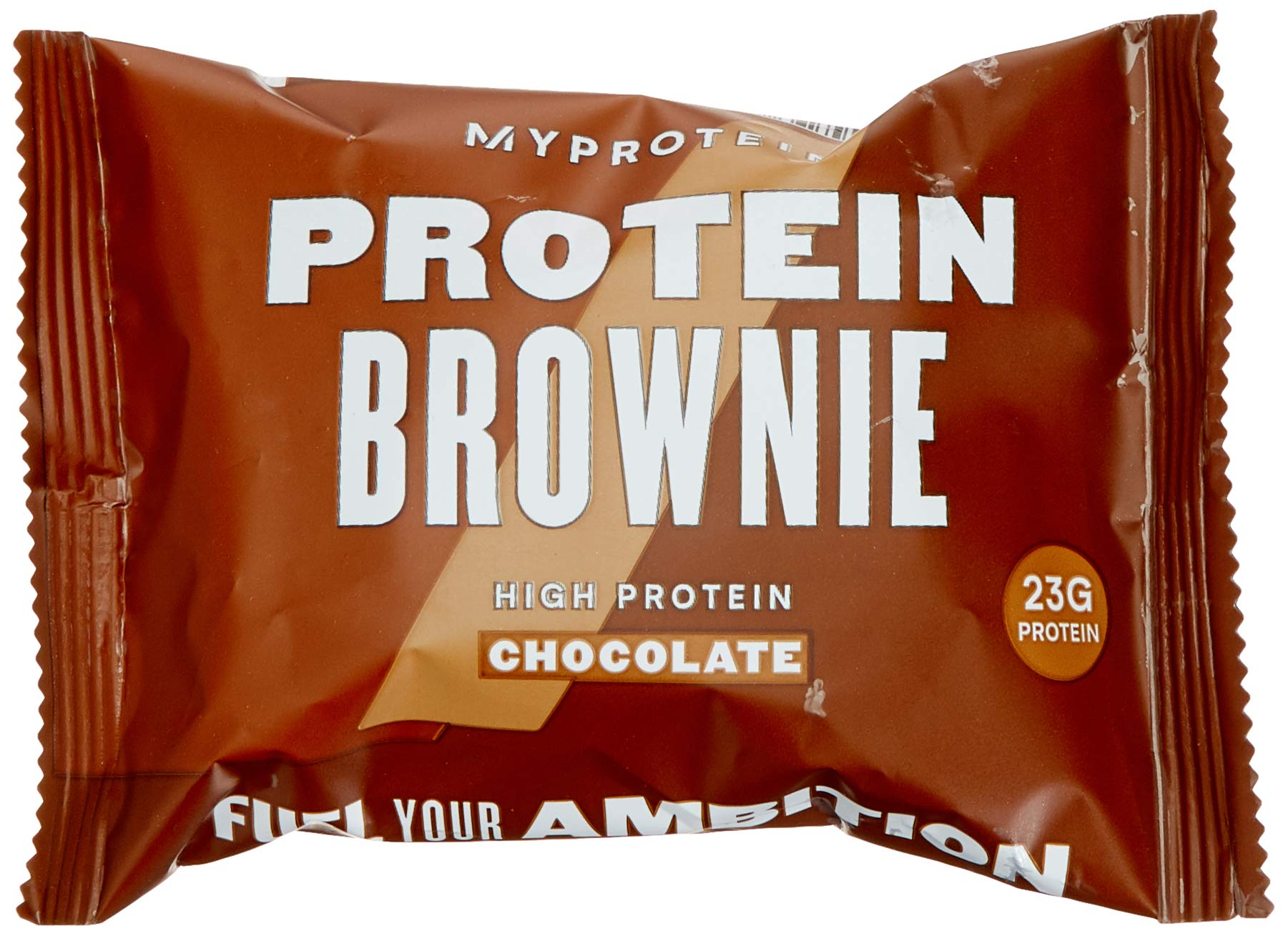 MyProtein Protein Brownie, Chocolate Chip, 23g Protein, (12 Pack)