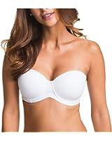 KissLace Women Comfort T-Shirt Bra Balconette Plus Size Invisible Bras