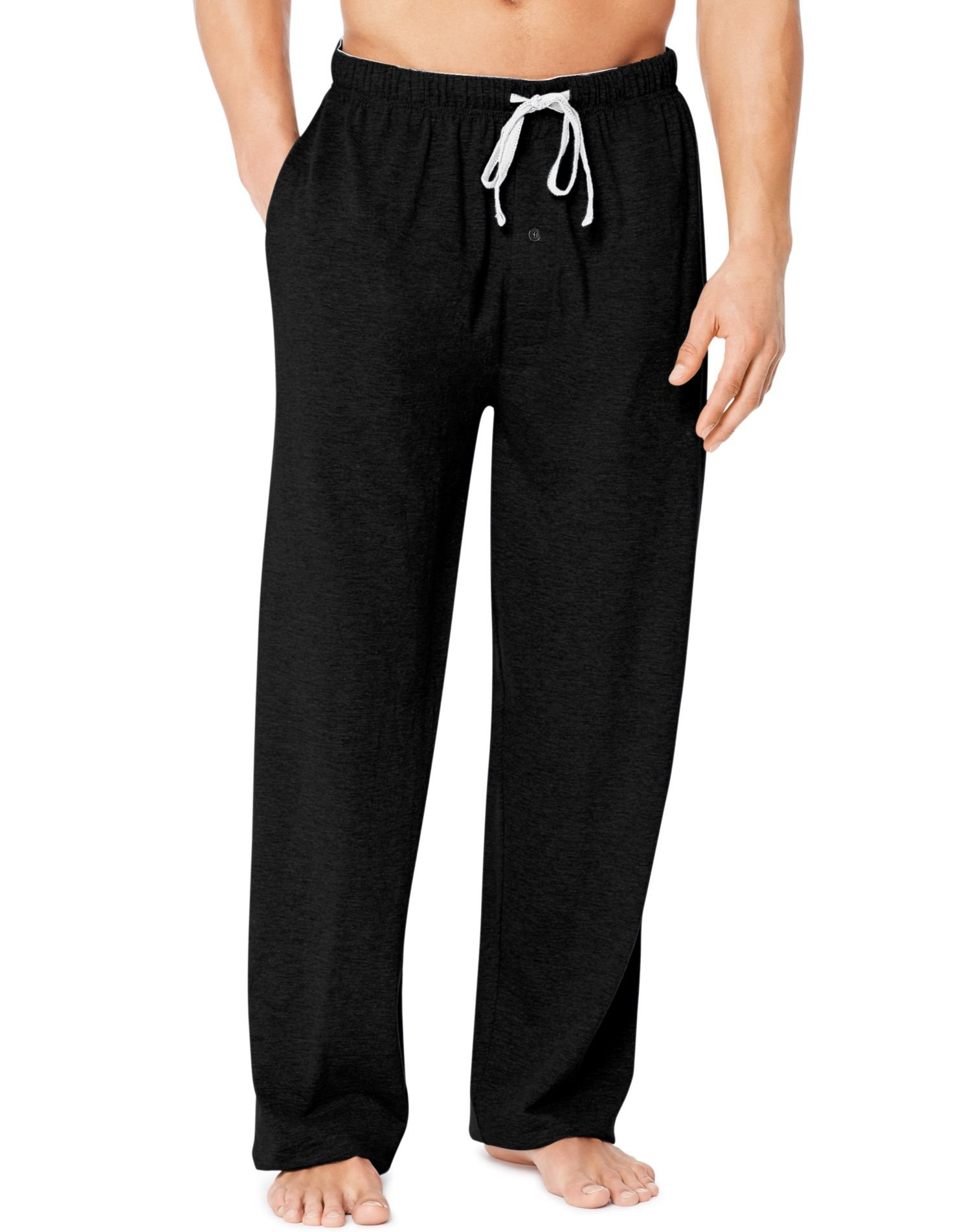 Hanes X-Temp Men`s Jersey Pant with ComfortSoft Waistband, 01101/01101X, M