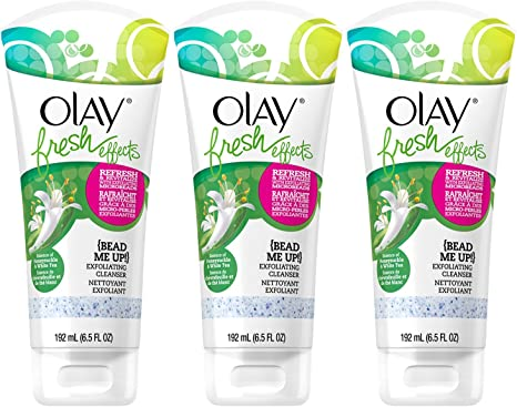 Olay Fresh Effects Bead Me Up Exfoliating Cleanser 6.5 oz. (Pack ...