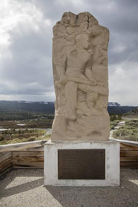 Amazon com: Photograph   The Tie Hack Memorial, west of