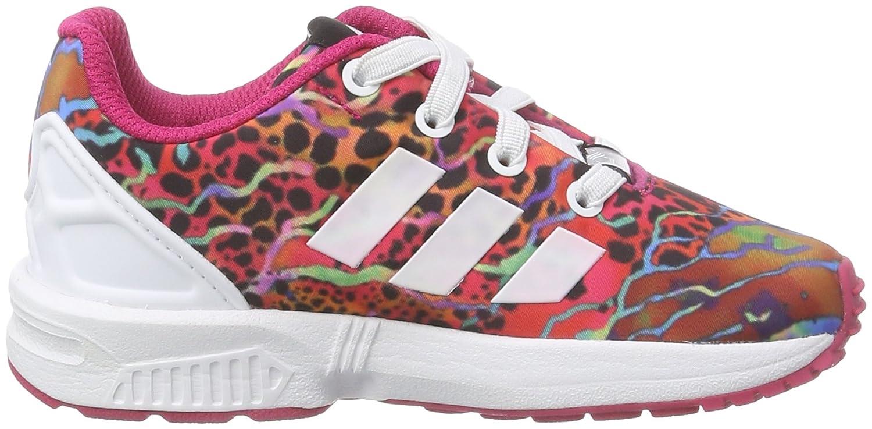 regard détaillé bc769 48396 adidas Originals ZX Flux, Sneakers Basses Fille