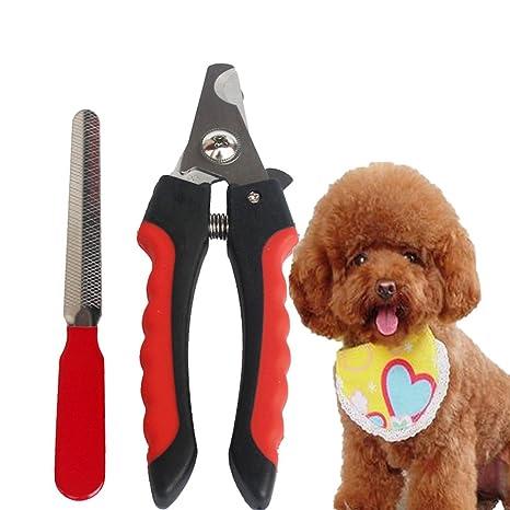 WSLCN cortador de uñas para perro, cortador de uñas para gatos, pájaros, cobayas