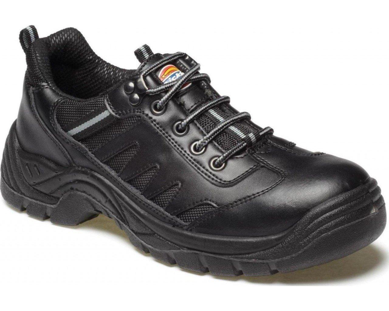 Dickies FA13335–8 Stockton Super Größe Sicherheit Trainer, Größe Super 8, Schwarz b433bf