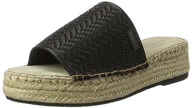 GANT Footwear Damen Clara Sandalen, Schwarz (Black), 36 EU