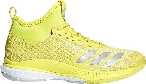 adidas Damen Crazyflight X 2 Mid Volleyballschuhe, gelb