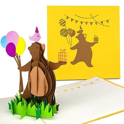 Pop Up - Tarjeta de cumpleaños para niños
