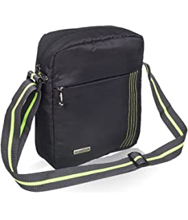 Cosmus Index 5 Litre Black & P Green Sling bag: Amazon.in: Bags ...