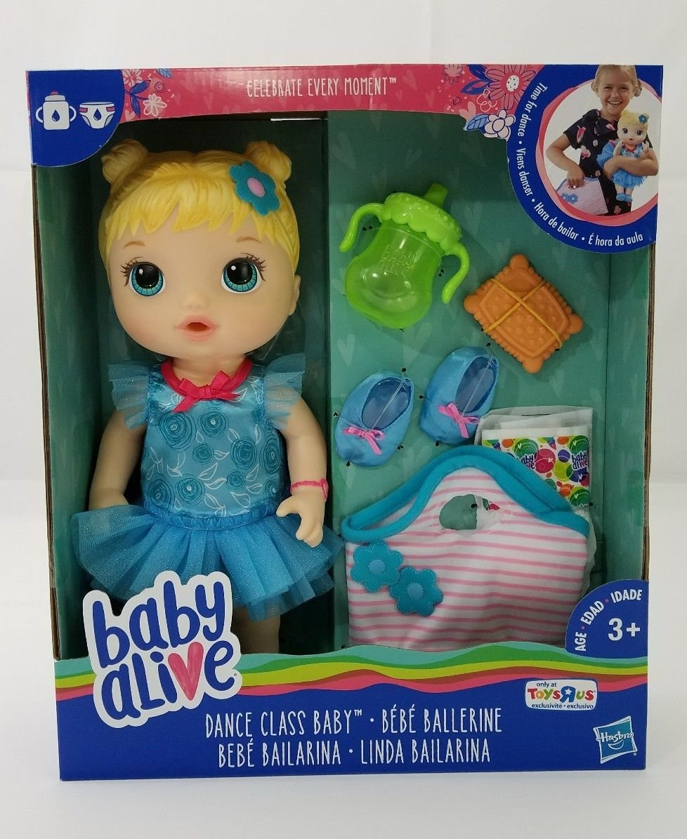 Baby Alive Dance Class Baby Blonde Doll Toys R Us Exclusive   B07DMGCRGZ