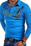 MT Styles Langarm Poloshirt REGATTA T-Shirt R-0665