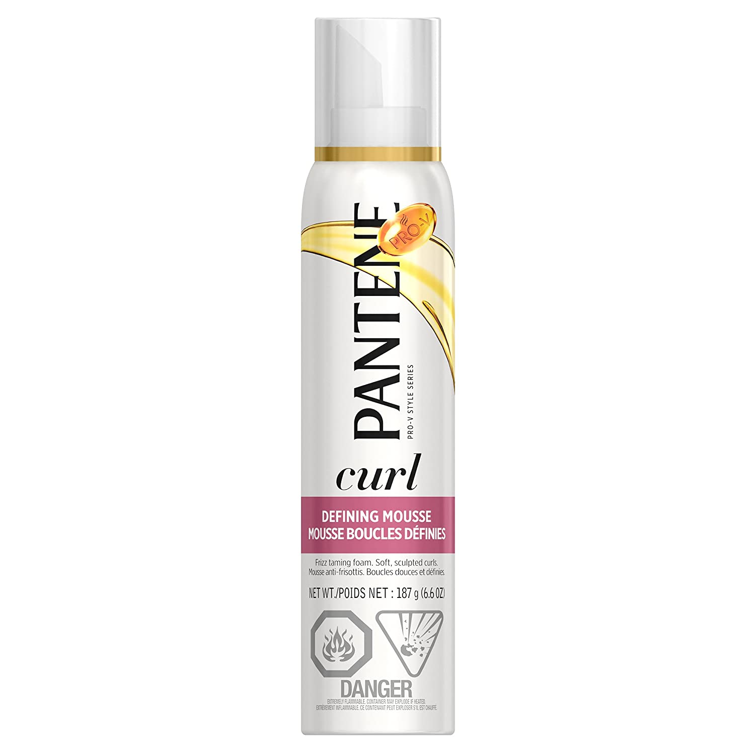 Pantene Curl Perfection Defining Mousse 187g