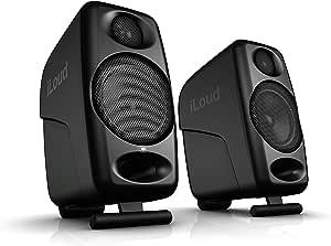 "IK Multimedia iLoud Micro Monitors Ultra-Compact 3"" Studio Monitors with Bluetooth - IP-ILOUD-MM-in"