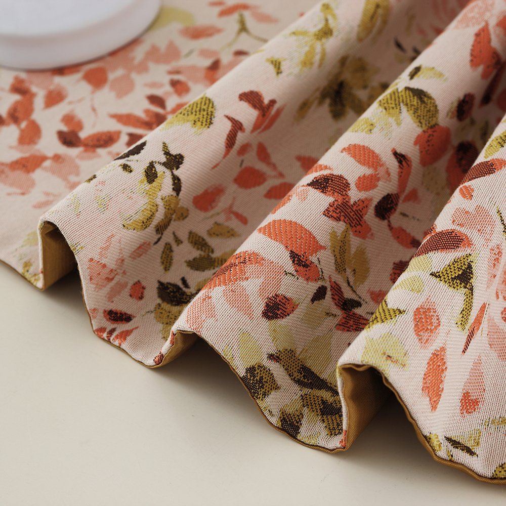 Table Cloth,Table Flag Red Perfect for Christmas shuke Table Runner Weddings,Dinner Parties or Everyday Use Leaves red, 12.6x70.8