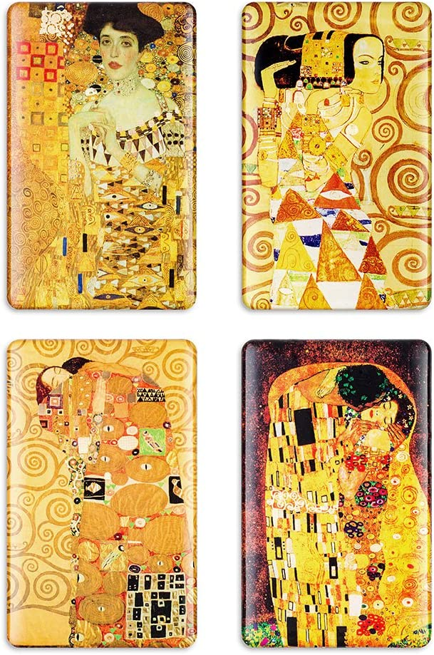 Fridge Magnets Klimt Refrigerator Magnet Art Decoration Kiss Satisfy Large Magnet Decorative for Whiteboard Lockers Office Gifts (Tree of life)