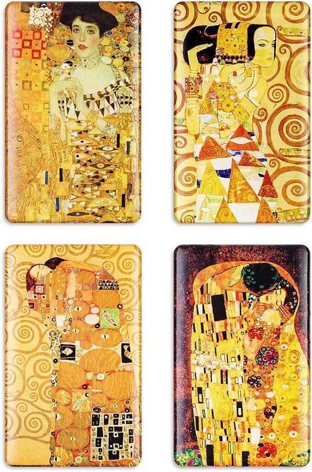 Refrigerator Magnets for Fridge Art Decoration Gustav Klimt Lockers Office Whiteboard Best Gifts Kids And Adults