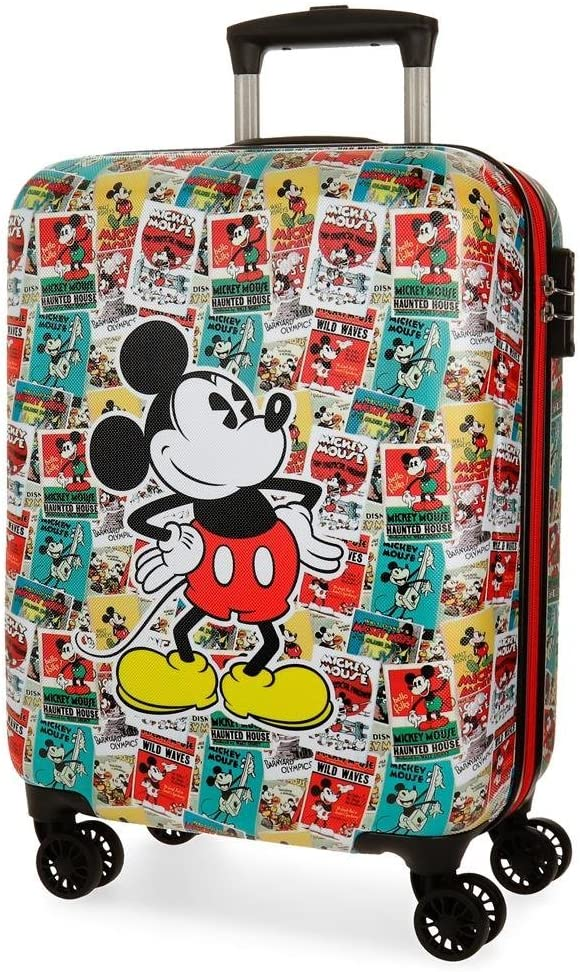 Disney 3331761 Posters Equipaje Infantil, 54 cm, 33 litros, Multicolor