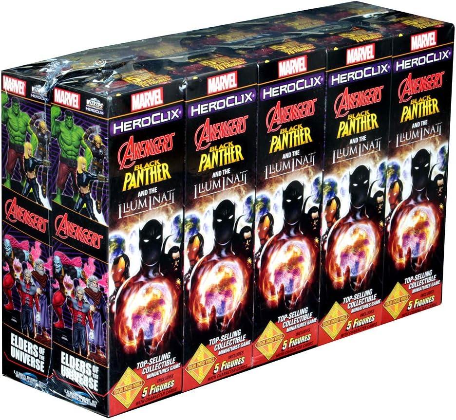 HeroClix Black Panther & The Illuminati Booster Brick: Amazon.es: Juguetes y juegos