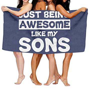 awesome beach towels. Unisex Just Awesome Beach Towels Washcloths Bath For Teen Girls Adults Travel Towel Pool And N