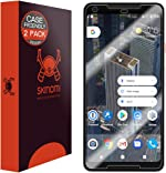 Skinomi TechSkin [2-Pack] (Case Compatible) Clear Screen Protector for Google Pixel