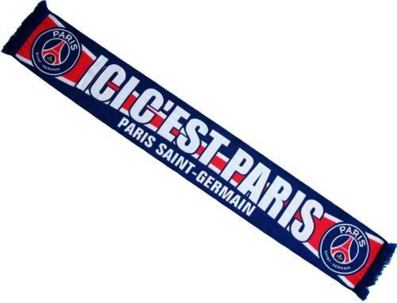 Paris Saint 138 cm Germain Sciarpa Ligue 1 Sport e tempo libero ...