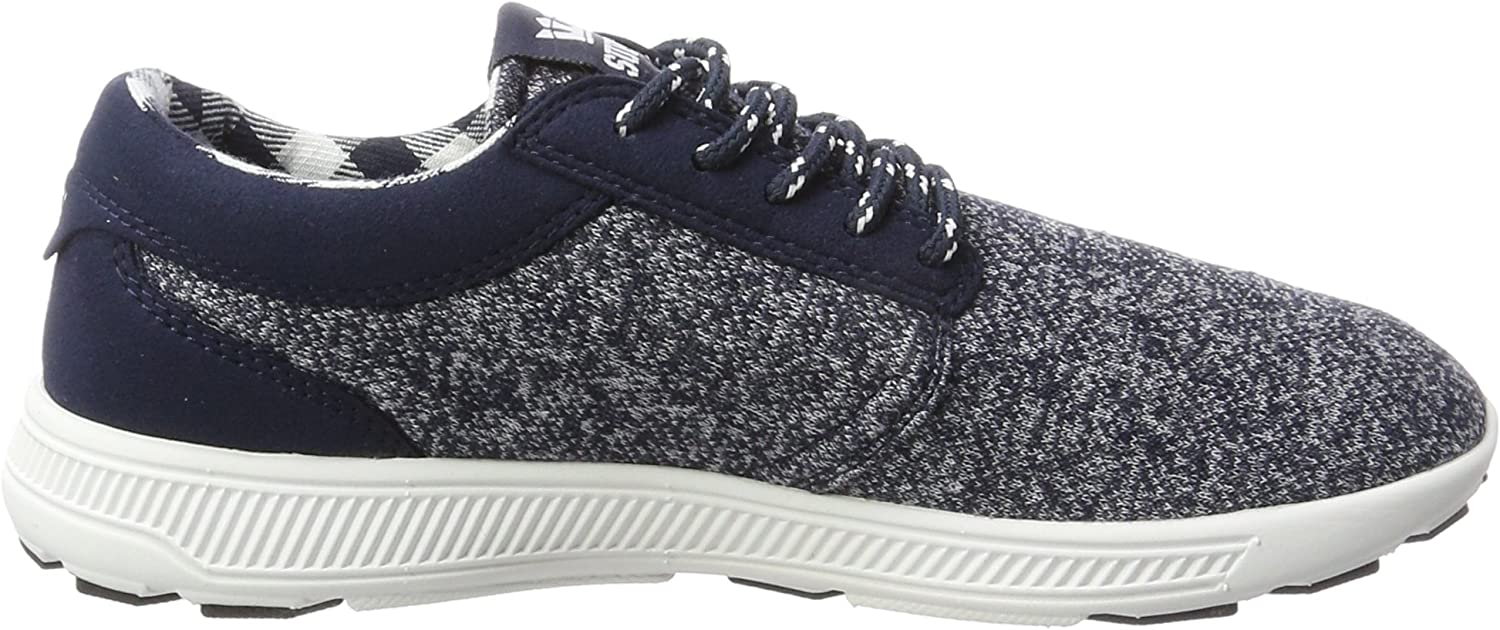 Supra Hammer Run, Sneakers Basses Homme Bleu Outerspace White