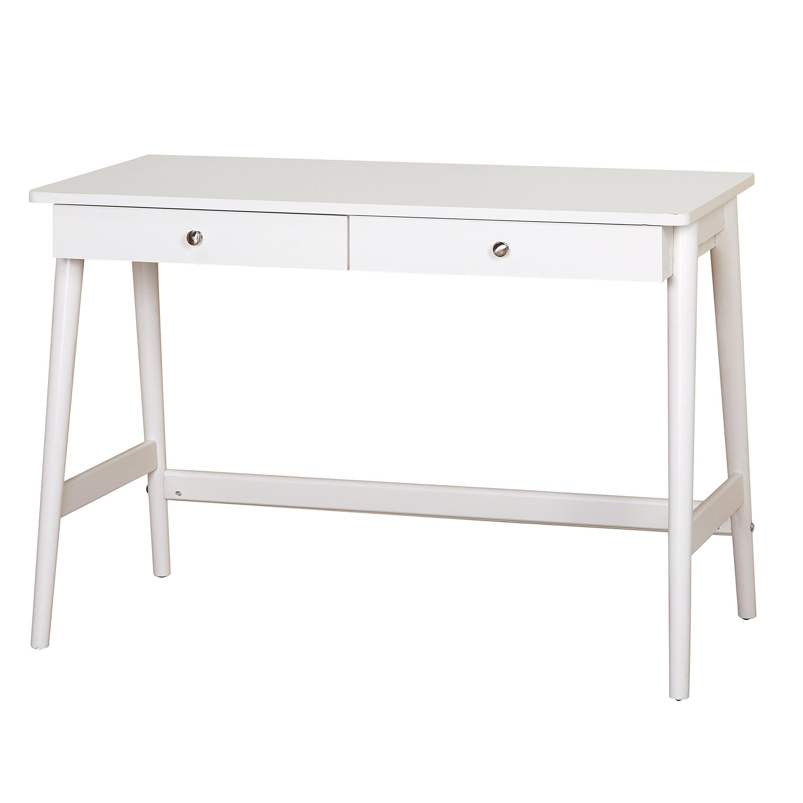Target Marketing Systems 37707WHT Vera White Wood Desk by Target Marketing Systems