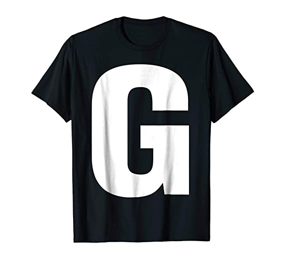 What clothing starts with the letter g?