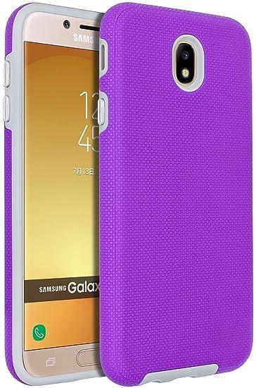 c333b8cfa27 ANLI Funda para Galaxy J7 Pro, Galaxy J730G, [Slim Fit], protección ...