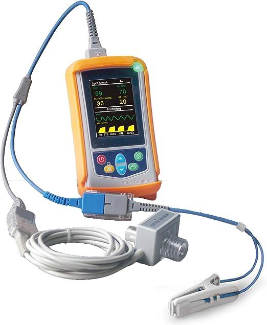 Amazon.com : Smart 138 SM100VC Handheld Veterinary Capnograph ETCO2 Monitor  with Mainstream ETCO2 Sensor : Pet Supplies