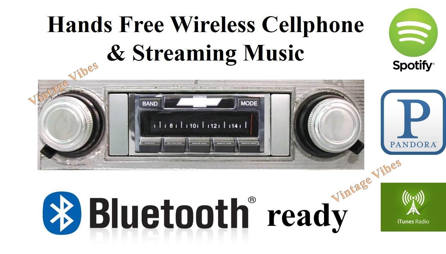 Amazon com: Bluetooth Enabled 1968 Chevelle USA-630 II High