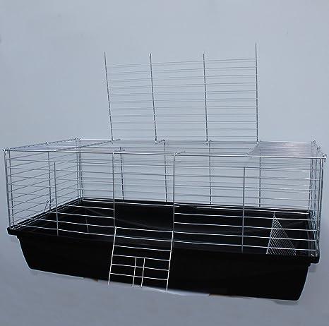 Jaula para roedores, cobayas, conejos de aprox. 100 x 54 x 43 cm ...