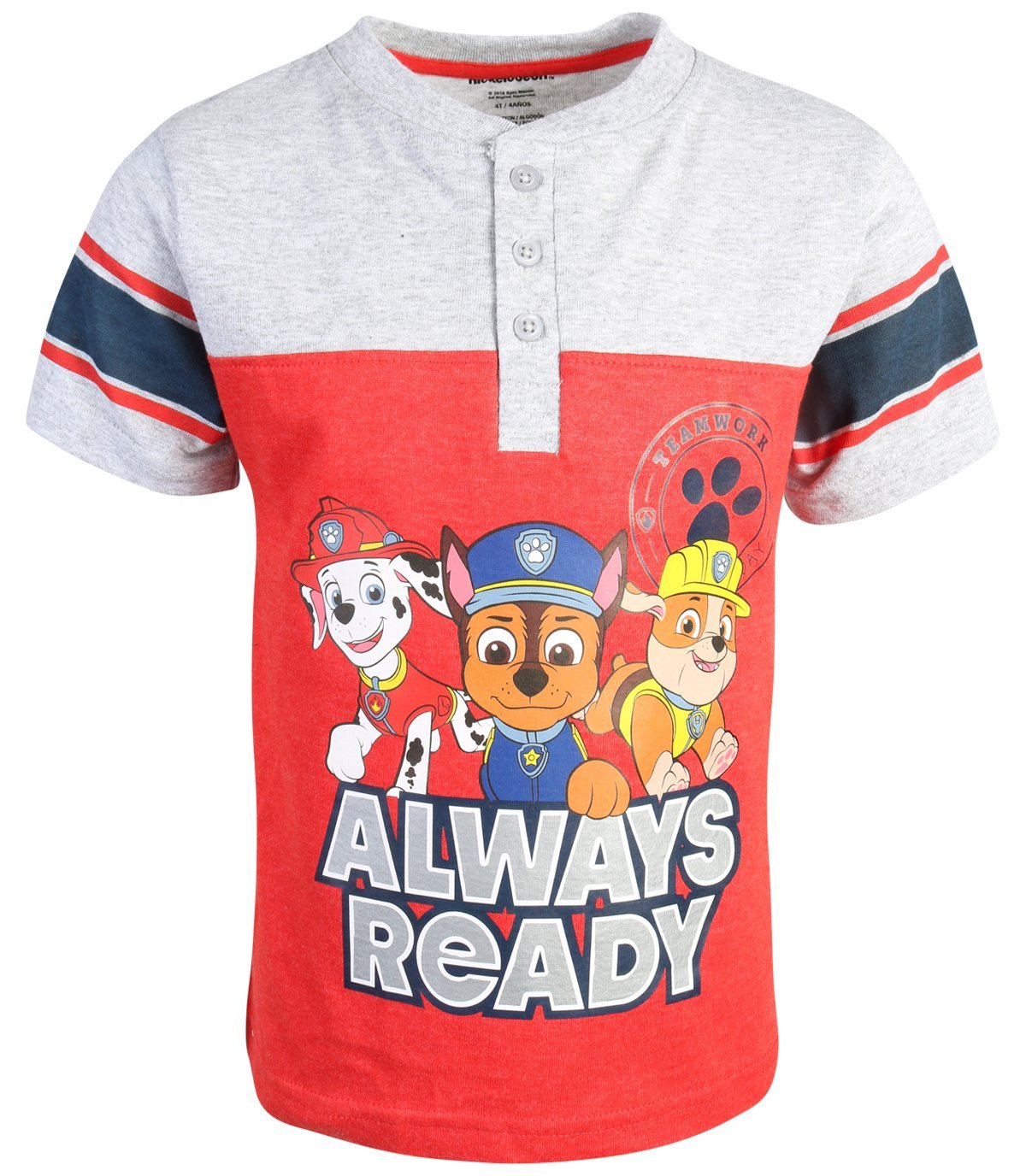 Nickelodeon Paw Patrol Boys 2-Piece French Terry Short Set, Always Ready, Size 6' by Nickelodeon (Image #2)