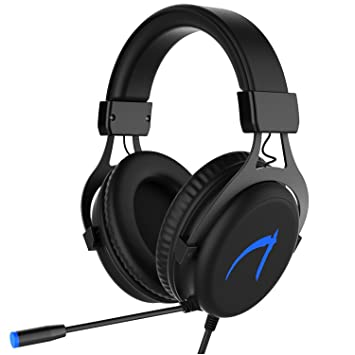 Auriculares Gaming MUTOUREN Cascos Gaming USB Gaming Headset para PC