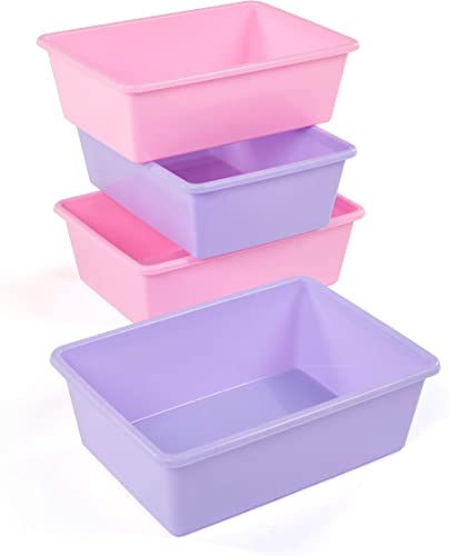 Humble Crew XL081 Large Plastic Storage Bin