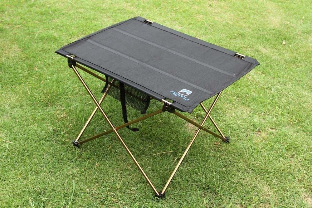 oldable Folding Table Desk Camping Outdoor Picnic Aluminium Alloy Ultra-light