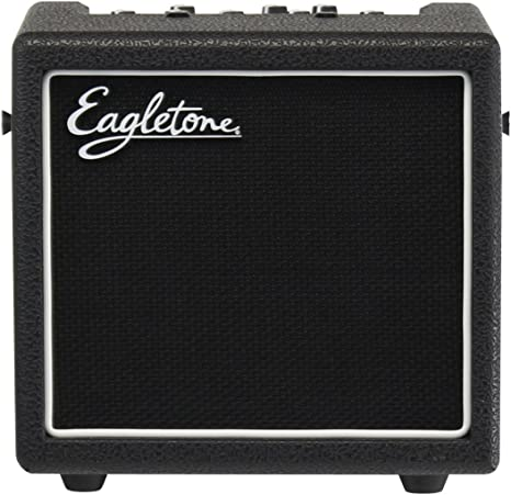 Eagletone Aero 8 V2 modelado de amplificador de guitarra Negro 8W ...