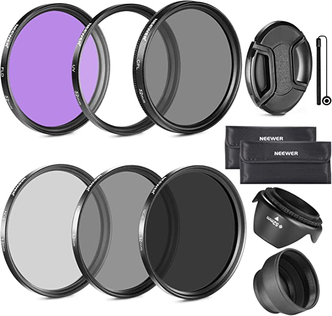 Haze UV 1A Multicoated 58mm for Canon EOS Rebel T3 Multithreaded Glass Filter